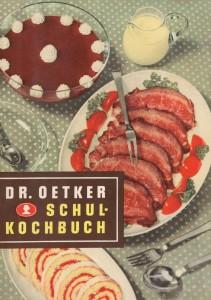 Dr. Oetker Schulkochbuch 1952 | The Black Gift Kulturmagazin