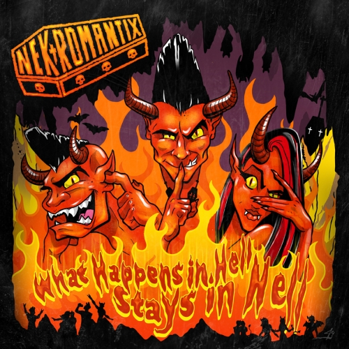 Rockabilly Rendezvous Magazin -What Happens In Hell, Stays In Hell
