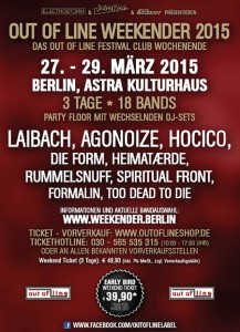 Out Of Line Weekender 2015 | The Black Gift Kulturmagazin