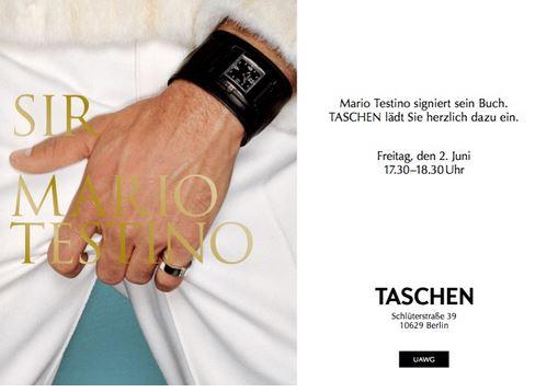 Mario Tesino signiert
