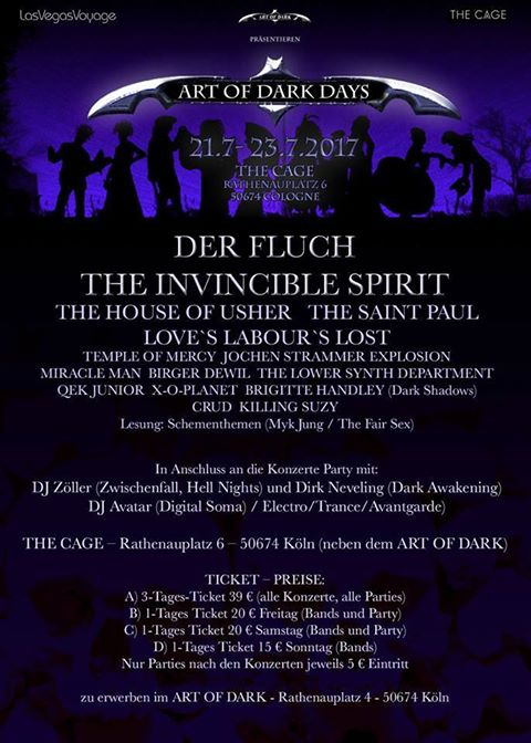 Art Of Dark Days 2017 The Black Gift Magazin