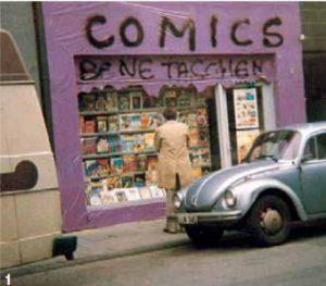 Taschen Comicladen 1980