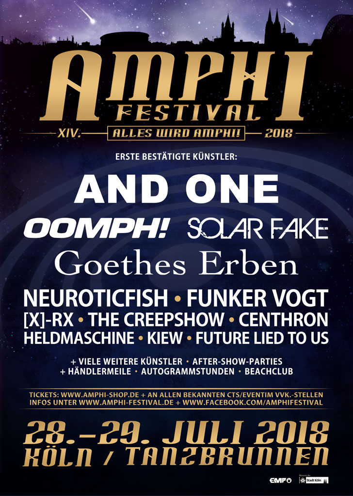 Amphi Festival 2018 The Black Gift Magazin