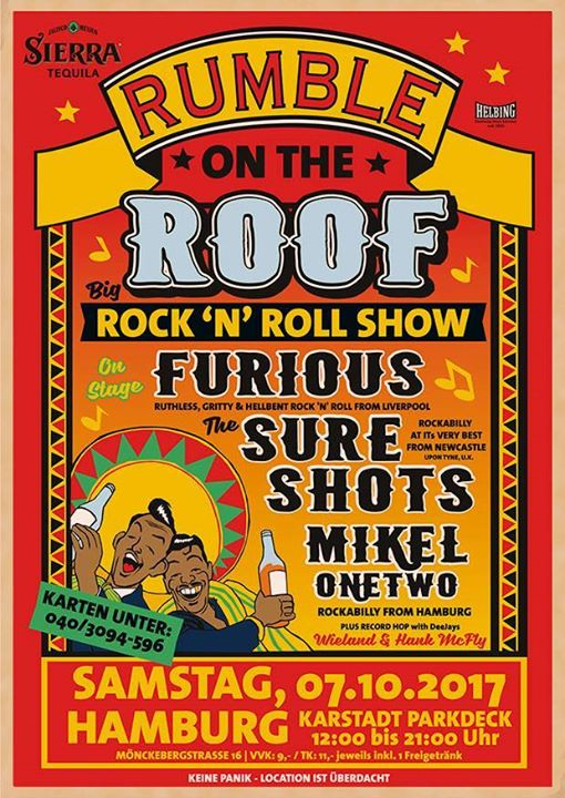 Rumble On The Roof HH 07102017