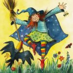 Die Kleine Hexe (c) Illustration Bärbel Fooken