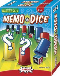 Memo Dice Amigo Spiel