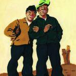 Die Jungs mit dem Tüdelband - Illustration Bärbel Fooken