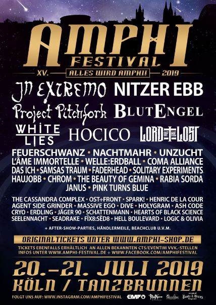Amphi Festival 2019 The Black Gift Magazin
