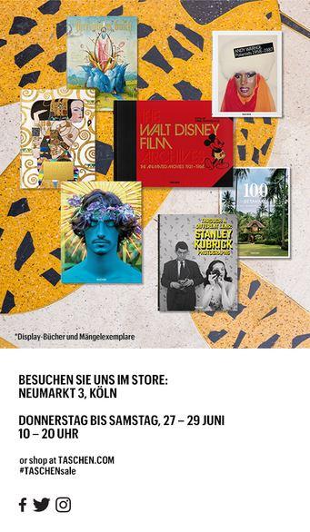 Taschen Verlag Sommer Sale Köln 2019