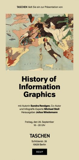 History of Information Grafics Einladung Berlin 20.09.2019