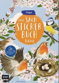 Mein Sachstickerbuch- Vögel (c)EMF Verlag